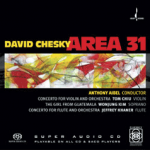Concerto for Flute and Orchestra, by David Chesky; Anthony Abel